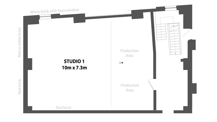 Studio1 Floorplan